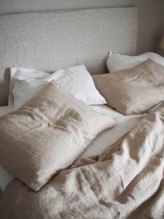 sängkläder av ekologiskt linnetyg