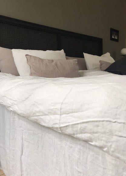 linne sängkappa