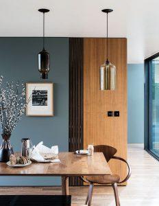 modern inredning grön vägg