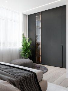 inbyggda garderobsdörrar