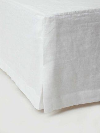 sängkappa ekologiskt linnetyg
