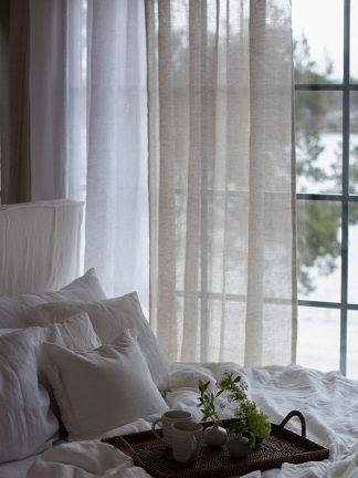 gardiner av linnetyg